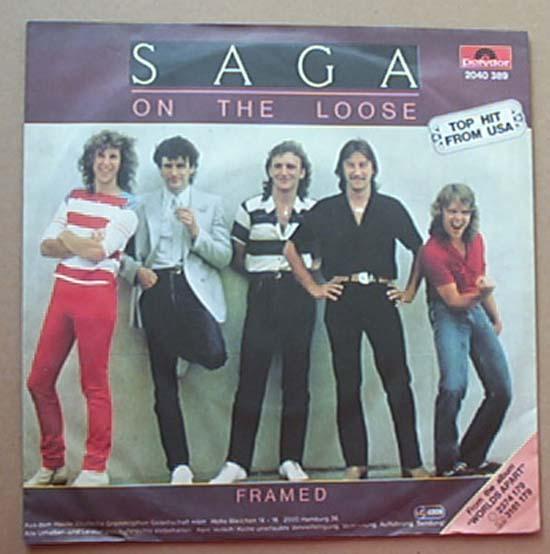 SAGA - ON THE LOOSE