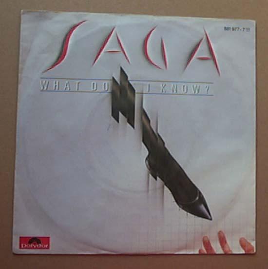 SAGA - WHAT DO I KNOW?