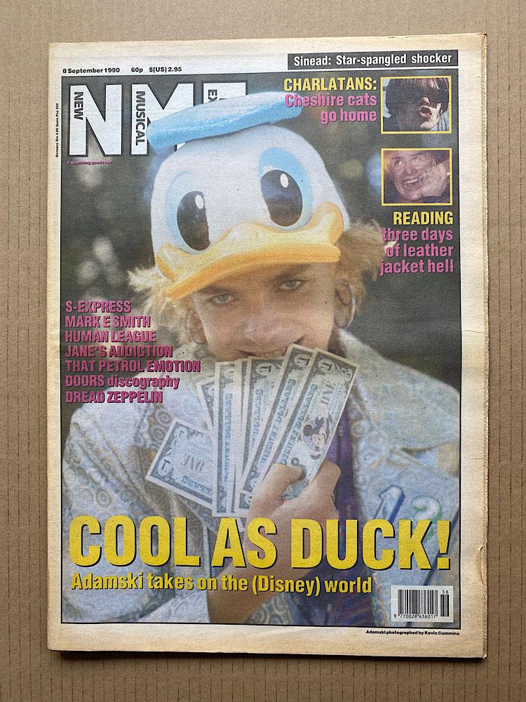 ADAMSKI - NME - Magazine