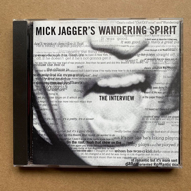 MICK JAGGER'S WANDERING SPIRIT - The Interview