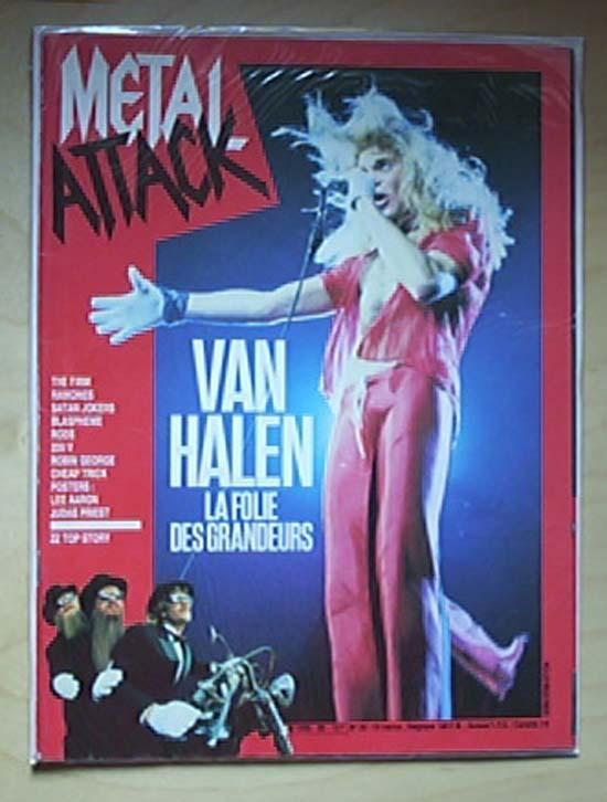 VAN HALEN - Metal Attack