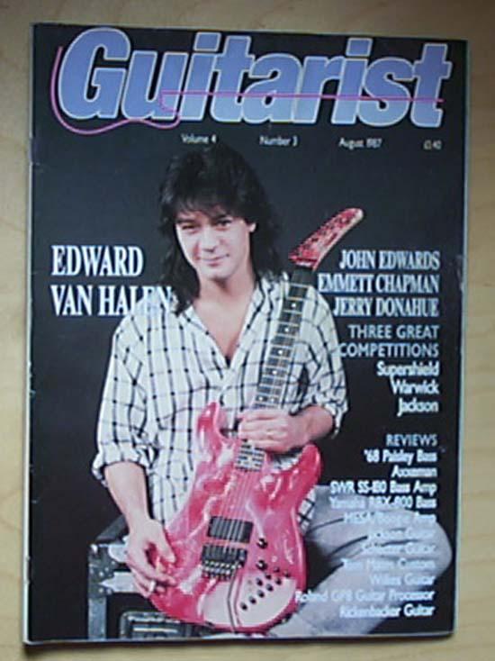 VAN HALEN - Guitarist
