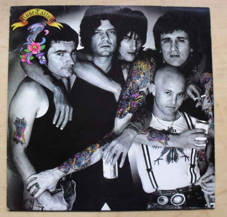 Rose Tattoo Assault And Battery Records Lps Vinyl And