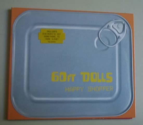60FT DOLLS - HAPPY SHOPPER - CD single