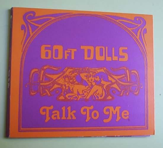 60FT DOLLS - TALK TO ME - CD single