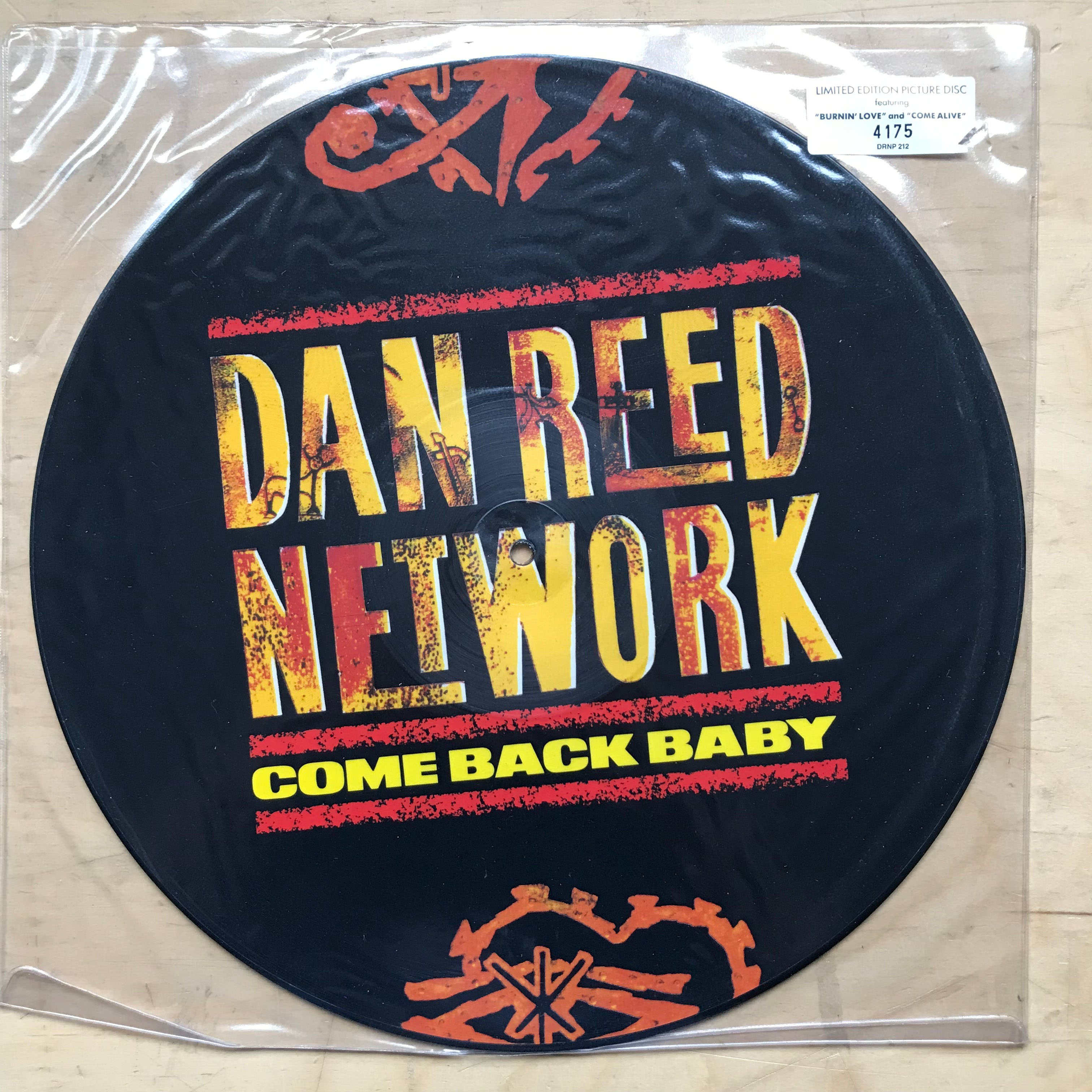 DAN REED NETWORK - COME BACK BABY