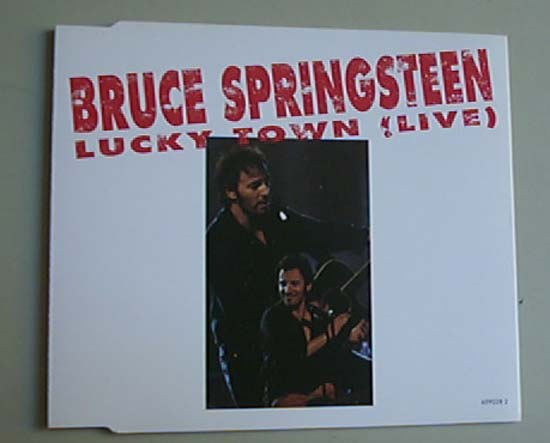 BRUCE SPRINGSTEEN - LUCKY TOWN (LIVE) - CD single