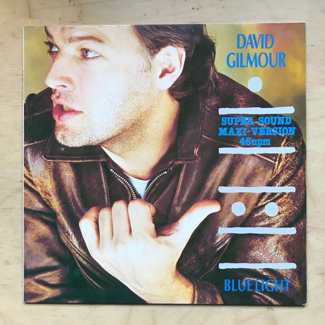 DAVID GILMOUR - BLUE LIGHT - 12 inch x 1