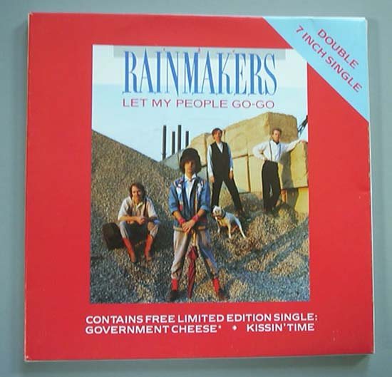 RAINMAKERS LET MY PEOPLE GO-GO (2 X 7'')
