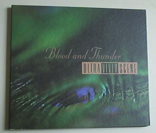 ULTRA VIVID SCENE - BLOOD AND THUNDER - CD single