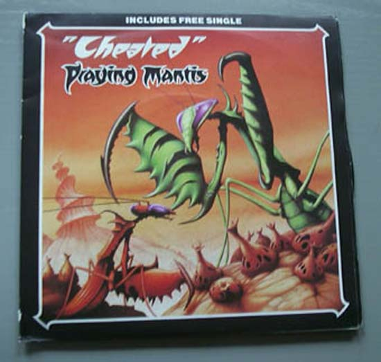 PRAYING MANTIS - CHEATED (2 X 7'') - 45T x 1