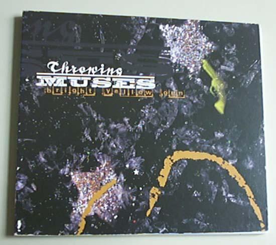 THROWING MUSES - BRIGHT YELLOW GUN - CD single