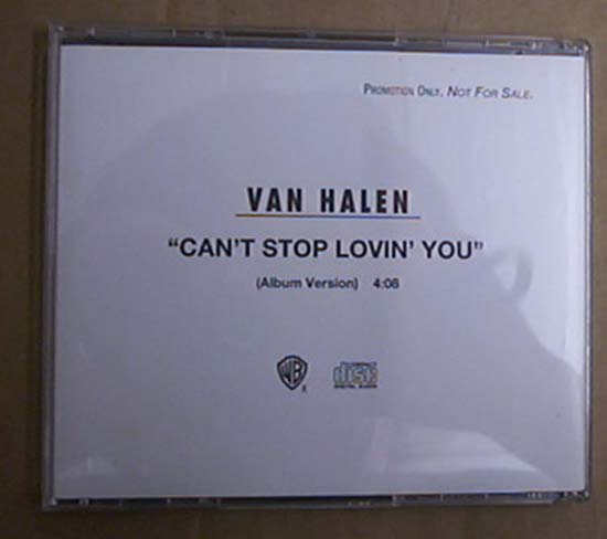 VAN HALEN - CAN'T STOP LOVIN YOU