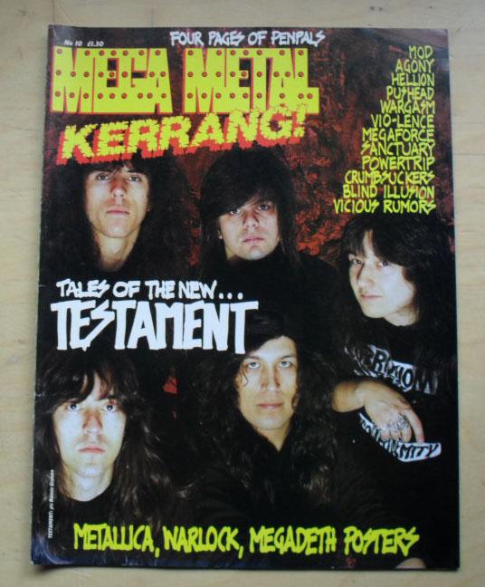 Mega Metal Kerrang No10