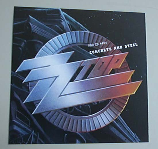 ZZ TOP - CONCRETE + STEEL