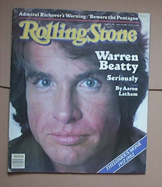 WARREN BEATTY - ROLLING STONE NO.366
