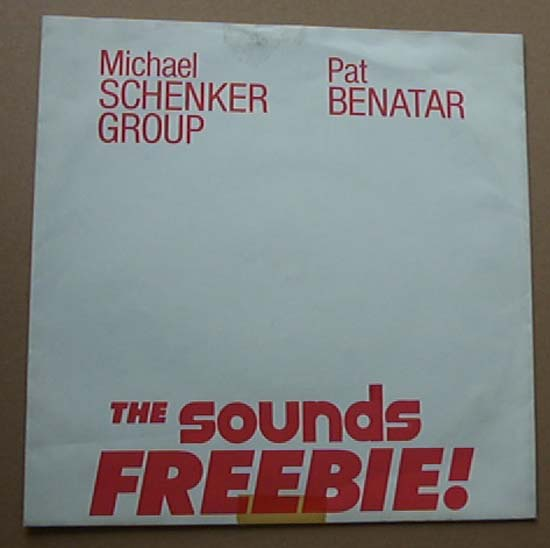 MSG/PAT BENATAR - ATTACK OF THE MAD AXEMAN - 7'' 1枚