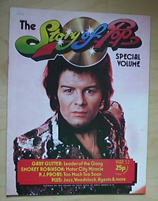 GARY GLITTER - STORY OF POP NO.32