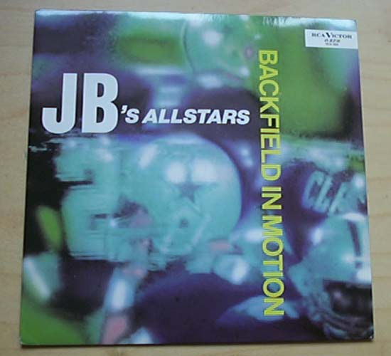 J.B.'S ALLSTARS - BACKFIELD IN MOTION