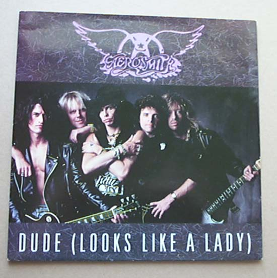 AEROSMITH - Dude Looks Like A Lady Album
