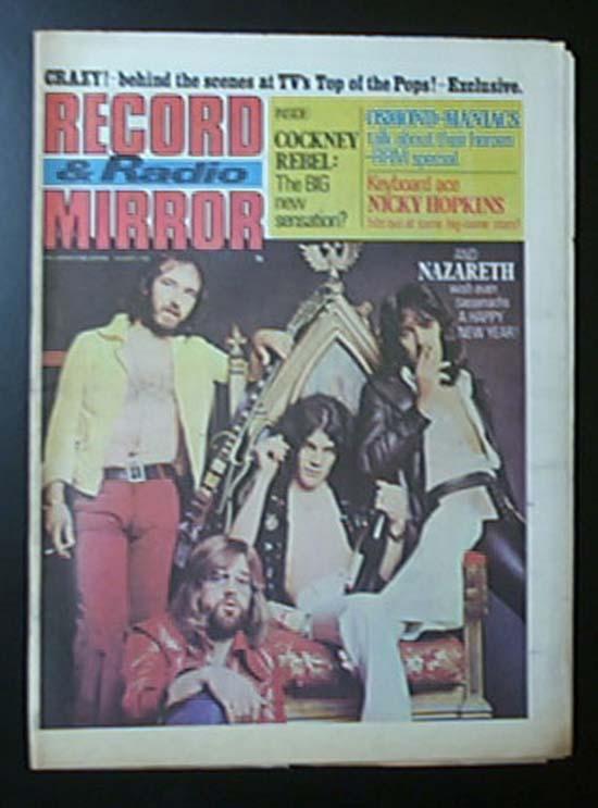 NAZARETH - RECORD MIRROR