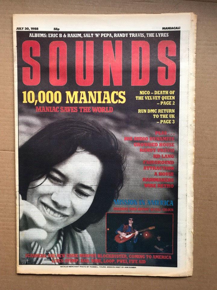 10,000 MANIACS - SOUNDS