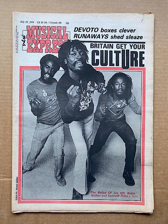 CULTURE - NME - Magazine