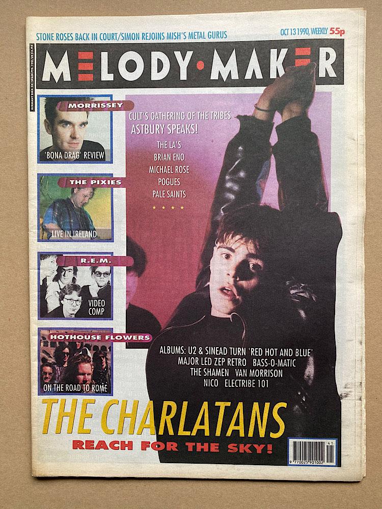 CHARLATANS - MELODY MAKER - Magazine