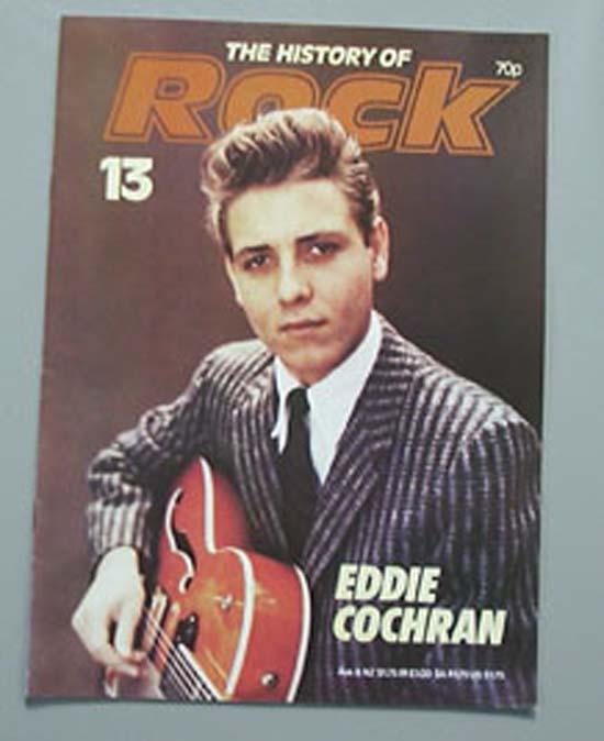 EDDIE COCHRAN - HISTORY OF ROCK 13