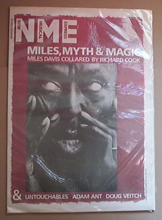 MILES DAVIS - NME - Magazine