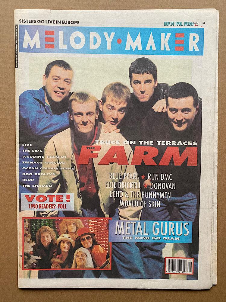 FARM - MELODY MAKER - Magazine
