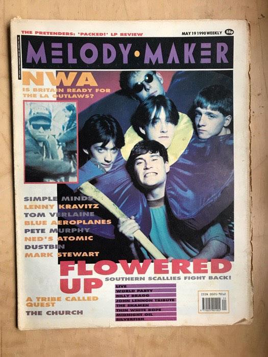 FLOWERED UP - MELODY MAKER - Magazine