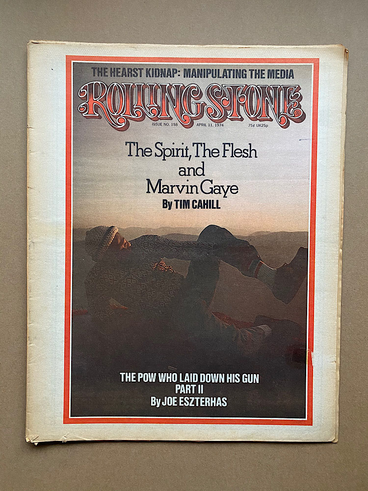 MARVIN GAYE - ROLLING STONE NO.158 - Magazine
