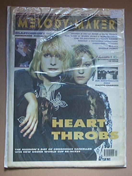 HEART THROBS - MELODY MAKER - Magazine