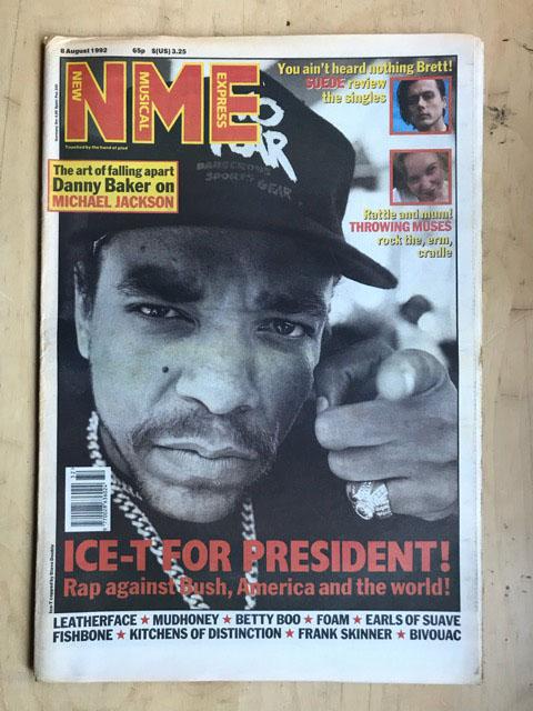 ICE T - NME - Magazine