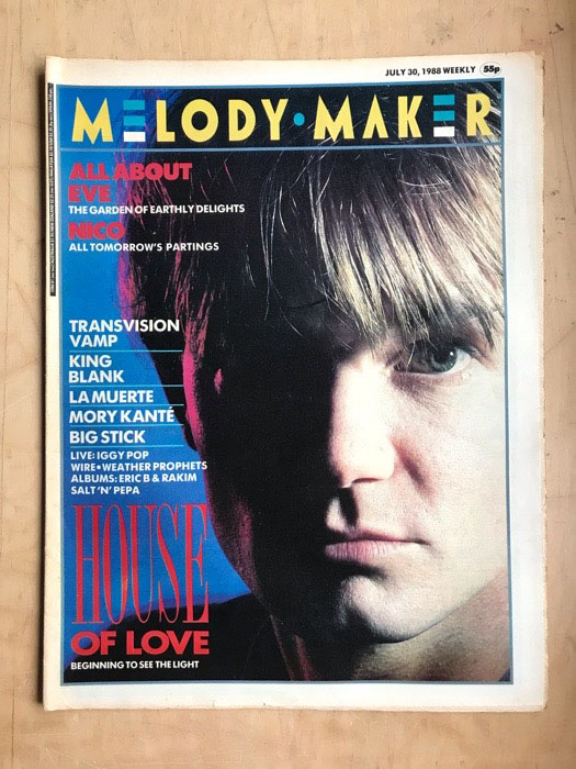 HOUSE OF LOVE - MELODY MAKER - Magazine