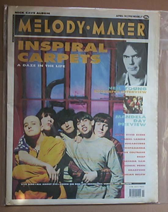 INSPIRAL CARPETS - MELODY MAKER - Magazine