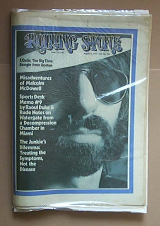 J GEILS BAND - ROLLING STONE NO.140