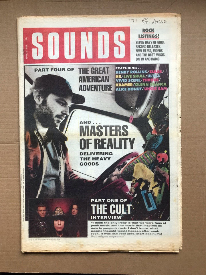 MASTERS OF REALITY SOUNDS