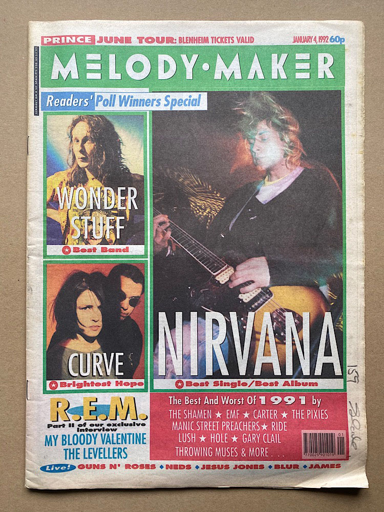 Melody Maker - NIRVANA