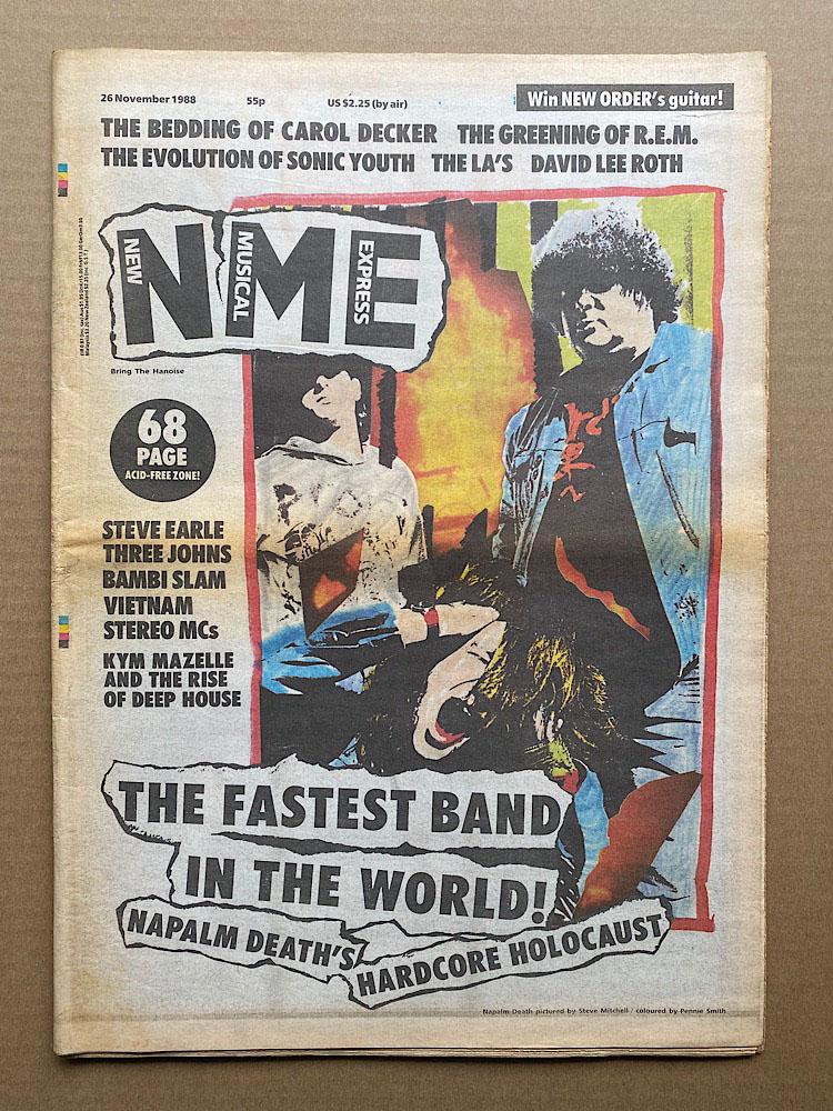 NAPALM DEATH - NME