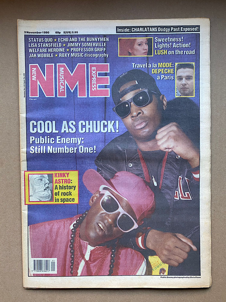PUBLIC ENEMY - NME - Magazine