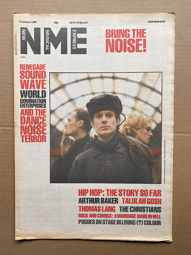 RENEGADE SOUNDWAVE - NME - Magazine