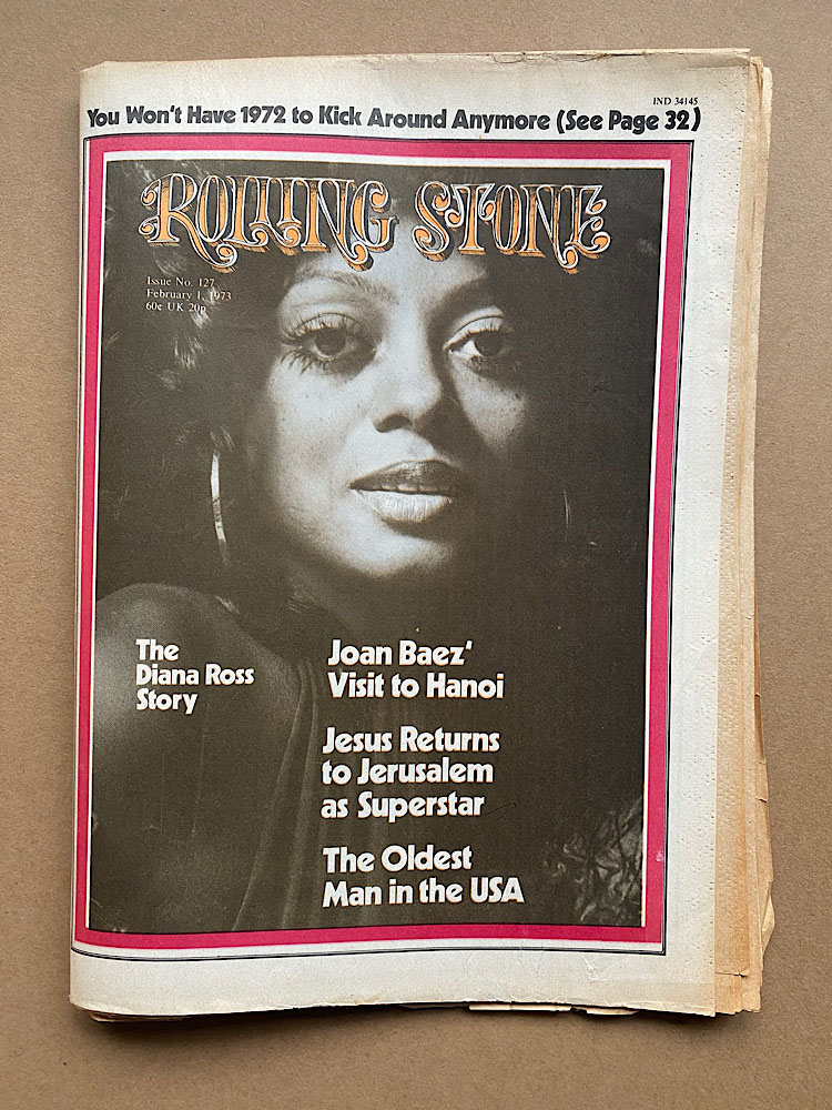 DIANA ROSS - ROLLING STONE NO.127 - Magazine