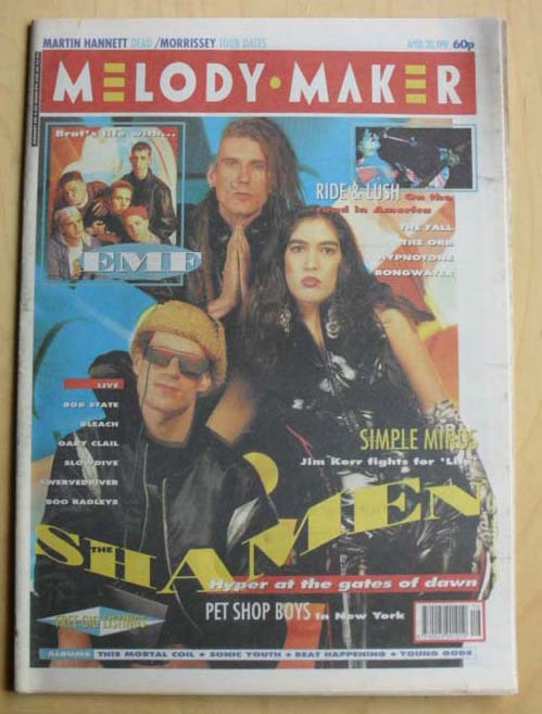 SHAMEN - MELODY MAKER - Magazine