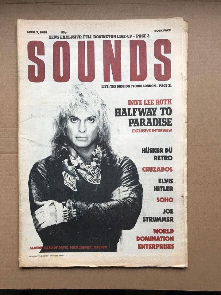 DAVID LEE ROTH - SOUNDS - Magazine