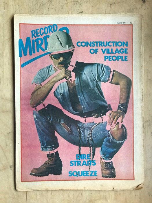 VILLAGE PEOPLE/JAM - RECORD MIRROR - Magazine