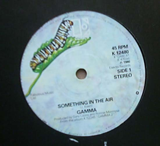 GAMMA - SOMETHING IN THE AIR