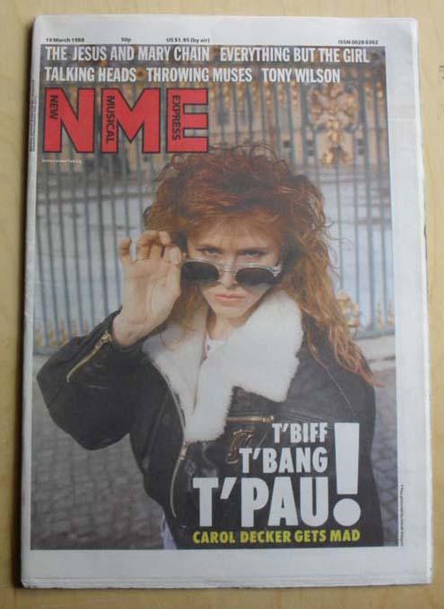 T'PAU - NME
