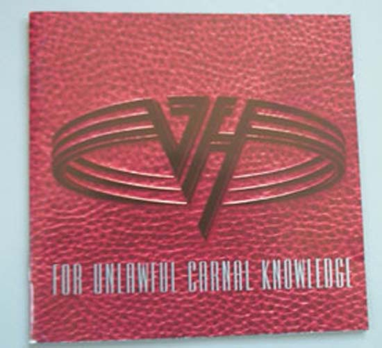 VAN HALEN - For Unlawful Carnal Knowledge LP